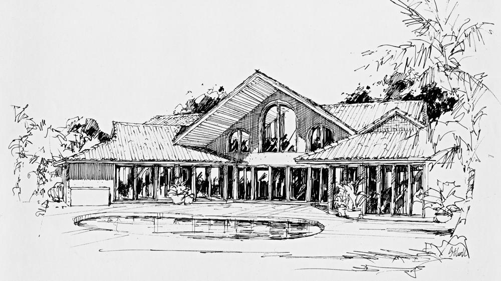 Concept Home #2 Rear