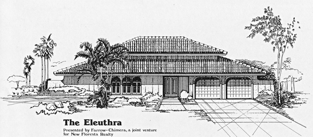 Eleuthra Model Home Front Rendering