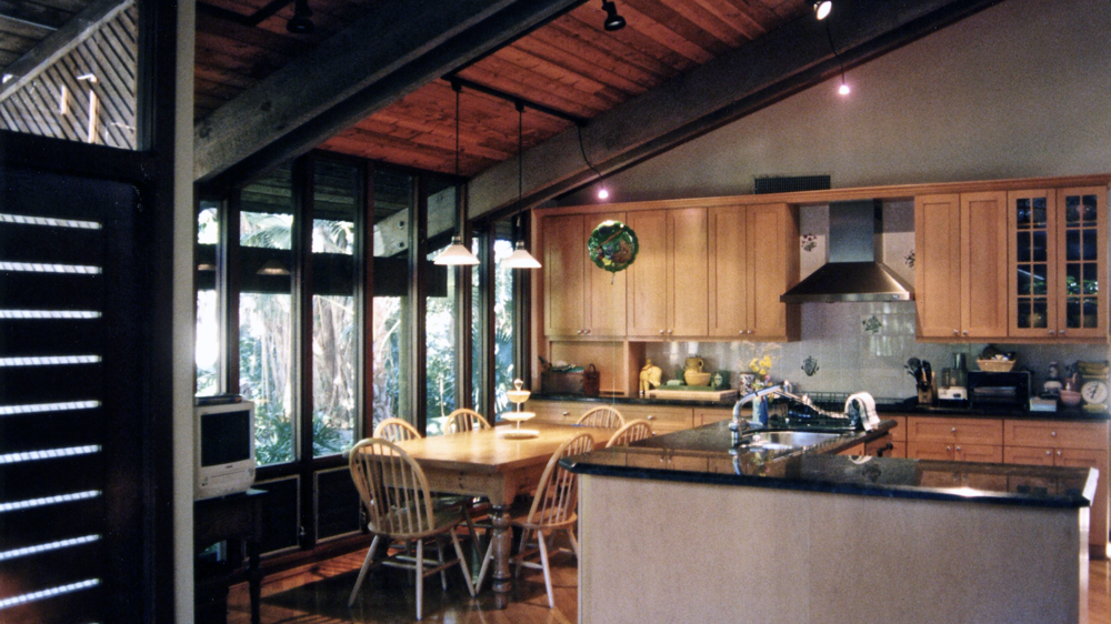 Kitchen Low Ceiling Area